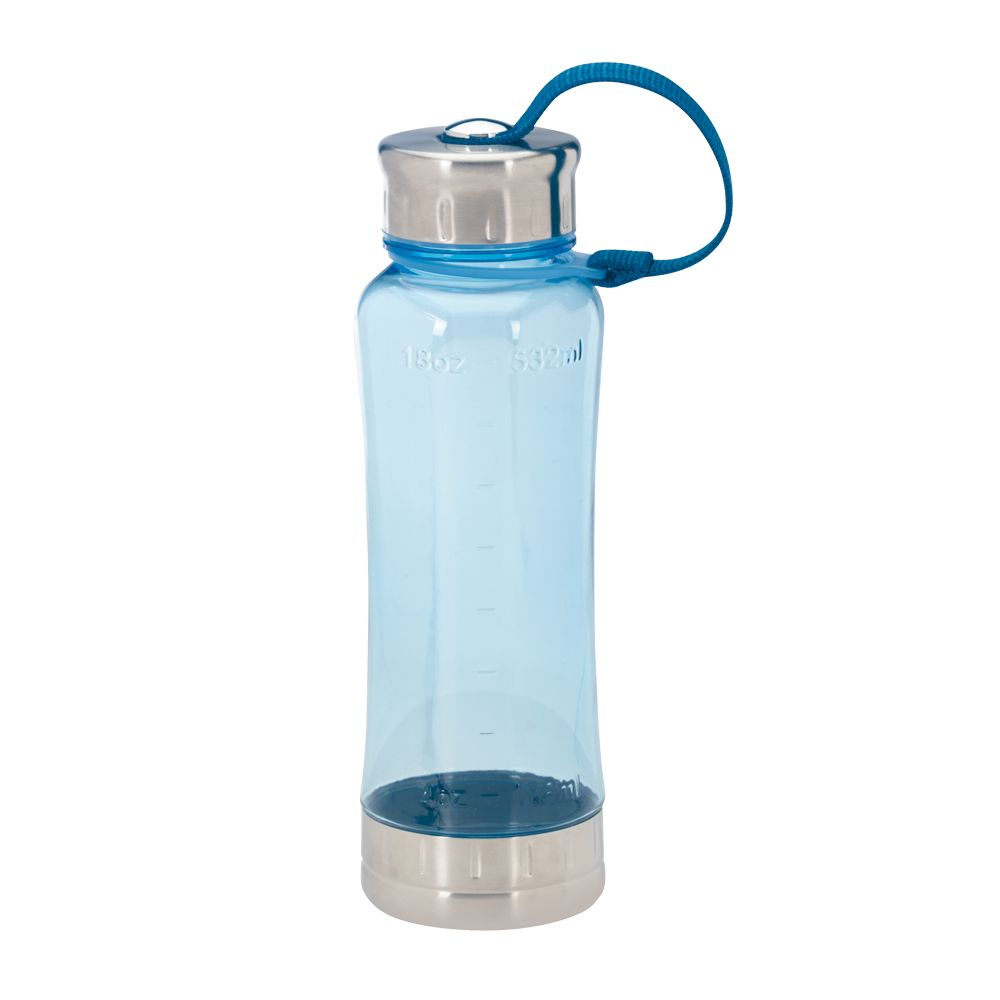 Sports bottle with screw bottom